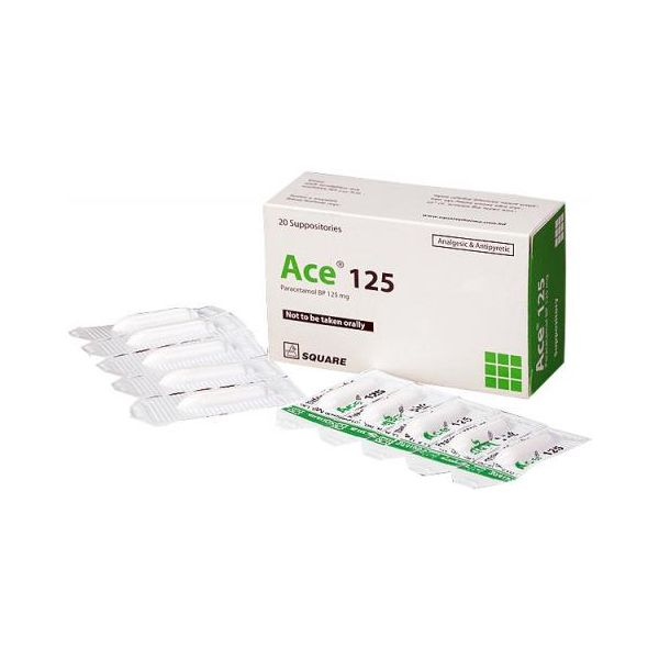 Ace 125mg Suppository