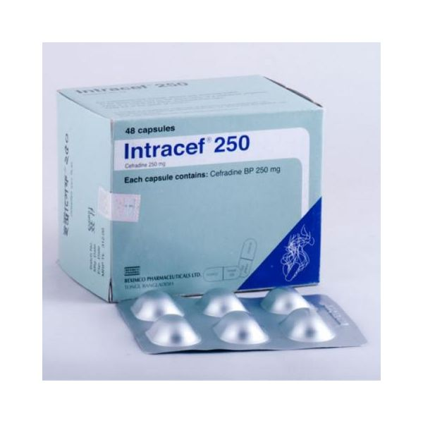 Capsule Intracef    500 500 mg